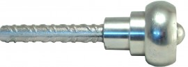 Levelling bolt - PL 60, chrome